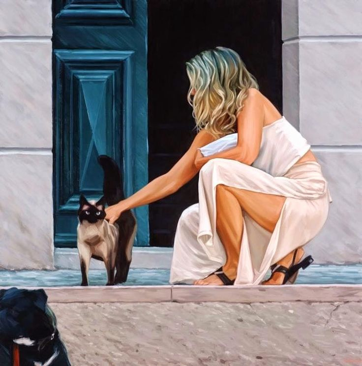 D.W.C. Nature and Woman - Painter Jim Farrant | DANCES WITH COLORS