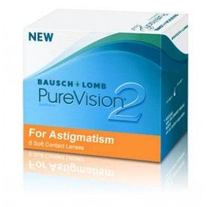 Lentile de contact lunare Bausch & Lomb Pure Vision 2HD Astigmatism - 6 lentile / cutie - http://lensa.ro/lentile-de-contact/bausch-lomb/pure-vision-2hd-astigmatism-6-lentile