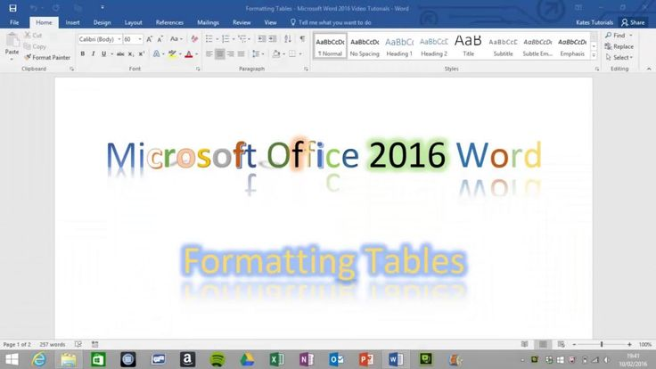 Tutorial Of The Design Tab   The Ribbon   Word 2016 Microsoft   Degrees In  Microsoft  Degrees In Microsoft Word