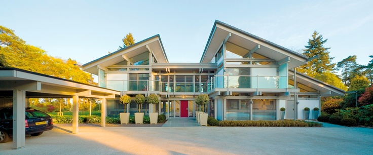 Huff House - We first saw these on Grand Designs years ago - simply stunning.