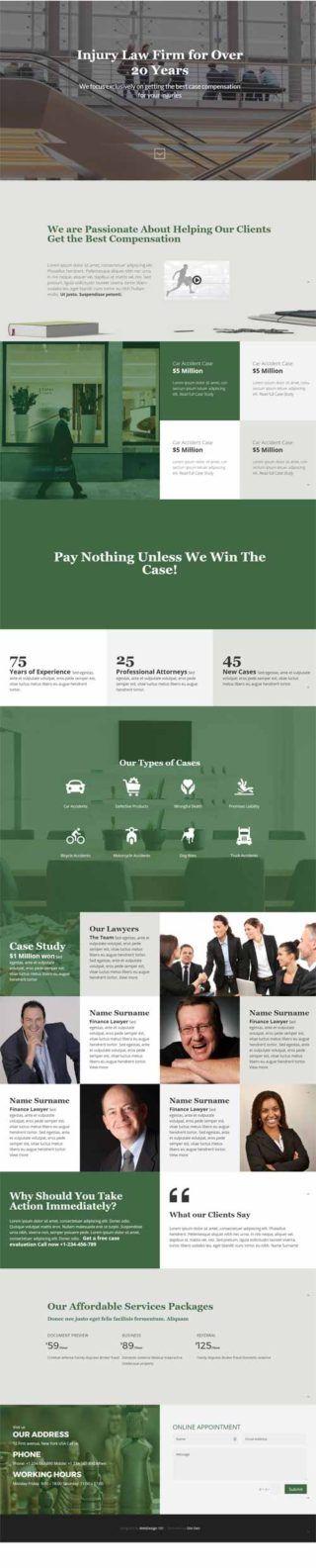 The 25+ best Law firm website ideas on Pinterest Law web, Lawyer - law firm brochure