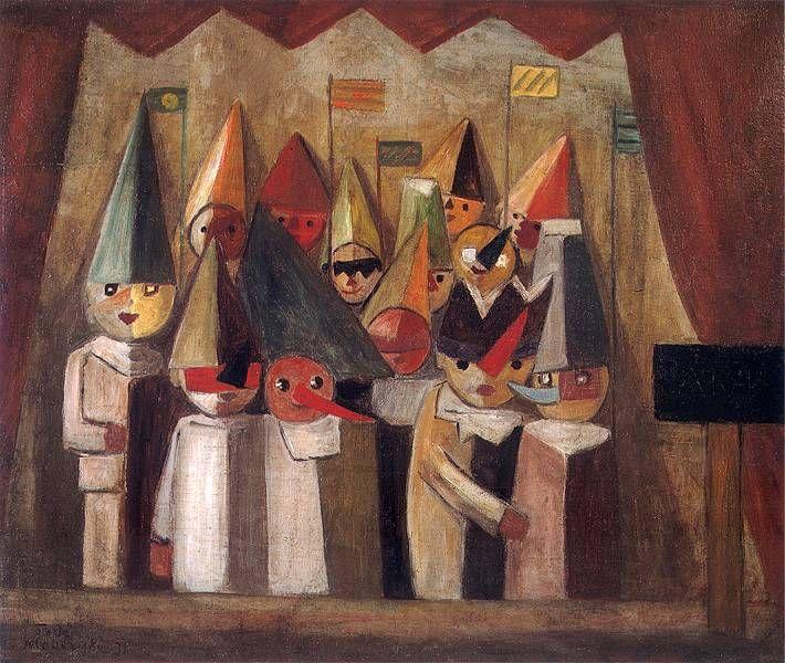 Tadeusz Makowski - Teatr dziecięcy, 1931