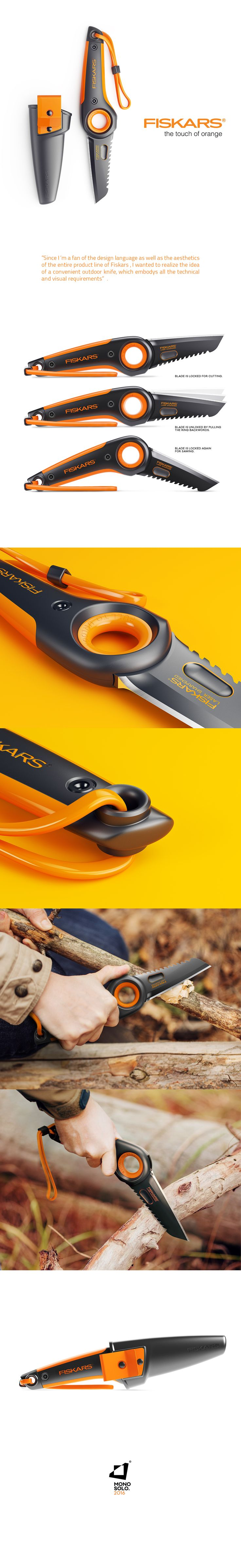 FISKARS OUTDOOR KNIFE on Behance