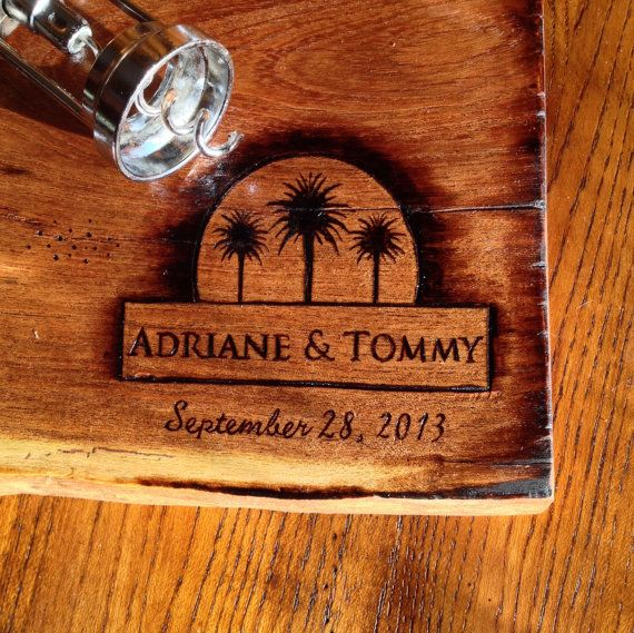 Personalized cutting board 10 x 15 min CREATE YOUR OWN design hand woodburning
