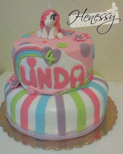 Én kicsi pónim torta - My little pony cake
