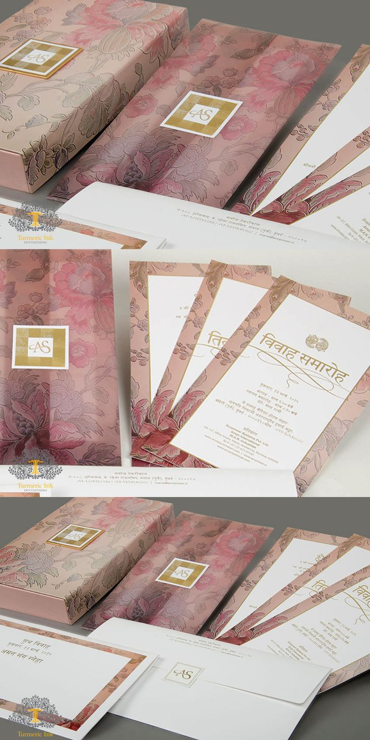 indian marriage invitation card format%0A Wedding Invitation cards  Indian wedding cards  invites  Wedding  Stationery  Customized invitations  Custom Invites  Wedding Stationery   Gold Foili u
