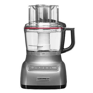 KitchenAid® Artisan® 2.1L Food Processor Contour Silver 5KFP0925BCU - from Lakeland