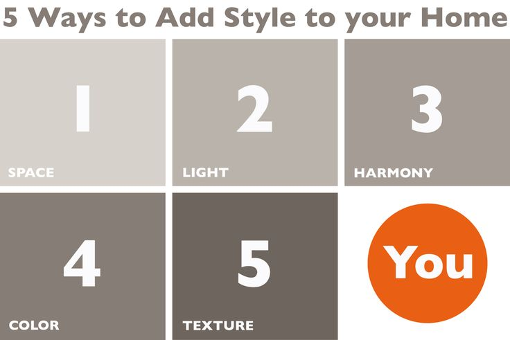 5 Ways to Add Style to your Home - Chic&LowCost
