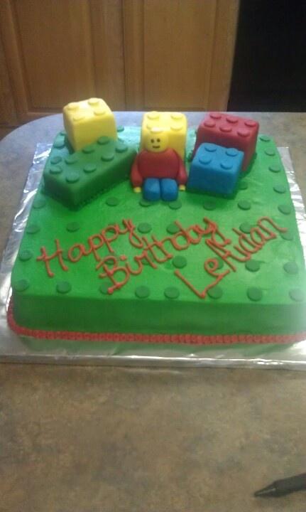 Mega Bloks Birthday Cake How To