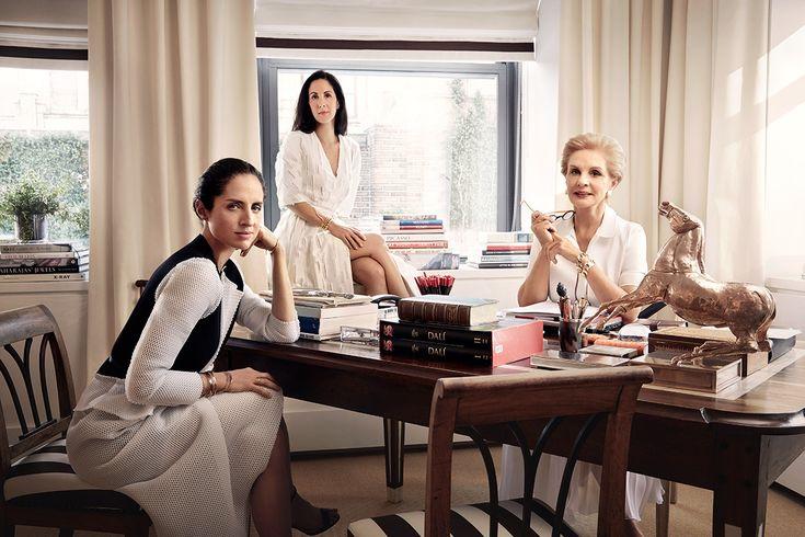 Carolina Herrera y sus hijas, Patricia y Carolina Adriana | Galería de fotos 50 de 51 | Vanity Fair