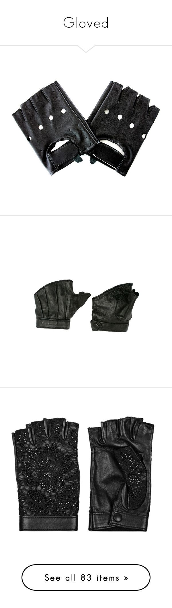 Black leather gloves cape town -  Gloved By Ugly Boi Liked On Polyvore Featuring Accessories Gloves