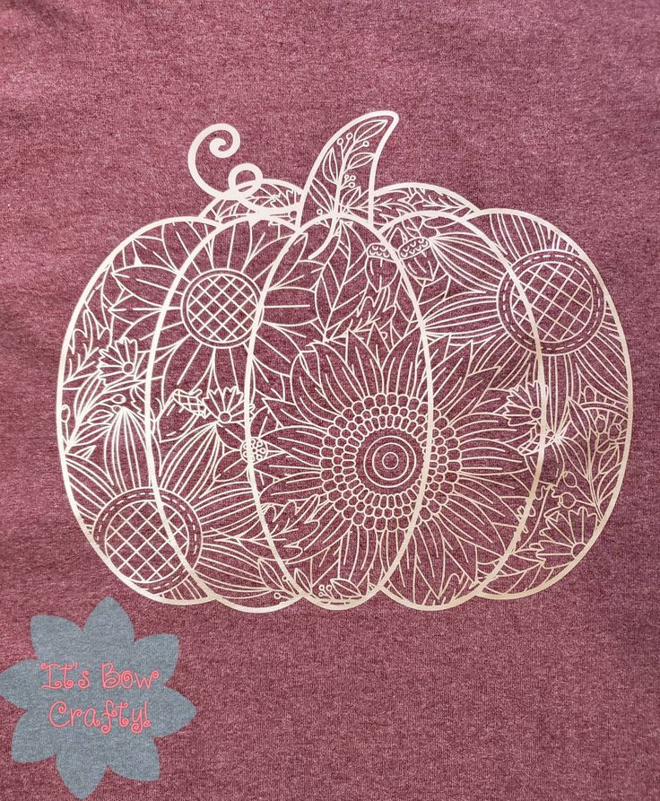 Pumpkin Zentangle SVG, Fall Svg, Pumpkin Mandala Svg
