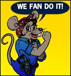 Terri - We Fan Do It!