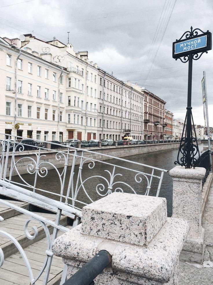 St. Petersburg Bridge VSCO A6
