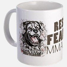 Respect All Fear No One MMA Gear Mug for