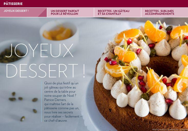Joyeux dessert ! - La Presse+
