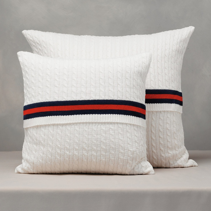 Cricket Cable Cushion Cover | The White Company