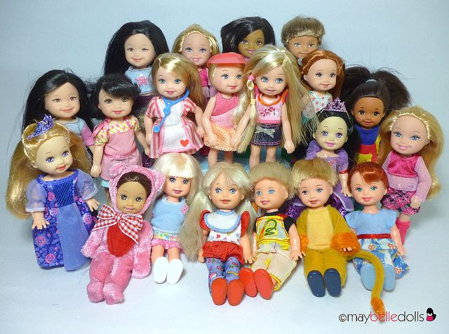 'kelly club' babies . i LOVE these little dolls !