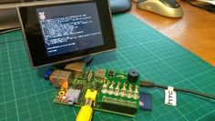 There are plenty of small screens available that accept a composite video input. Perfect for hooking up to the Raspberry Pi's video output.. 10 Things to Connect to Your Raspberry Pi