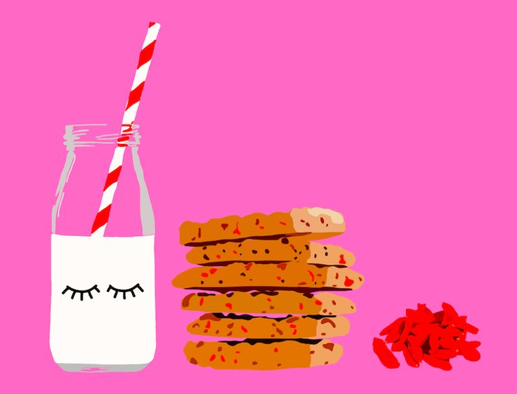 Kid's lunch ideas for school: Oatmeal Cookies with Goji Berries