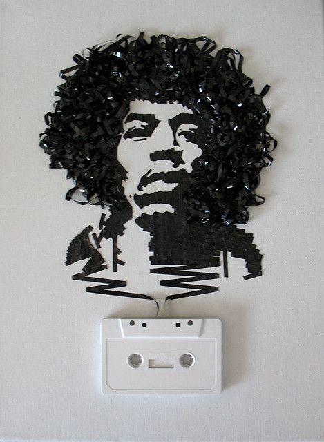 Ghost in the Machine Jimi Hendrix  by Erika Iris Simmons