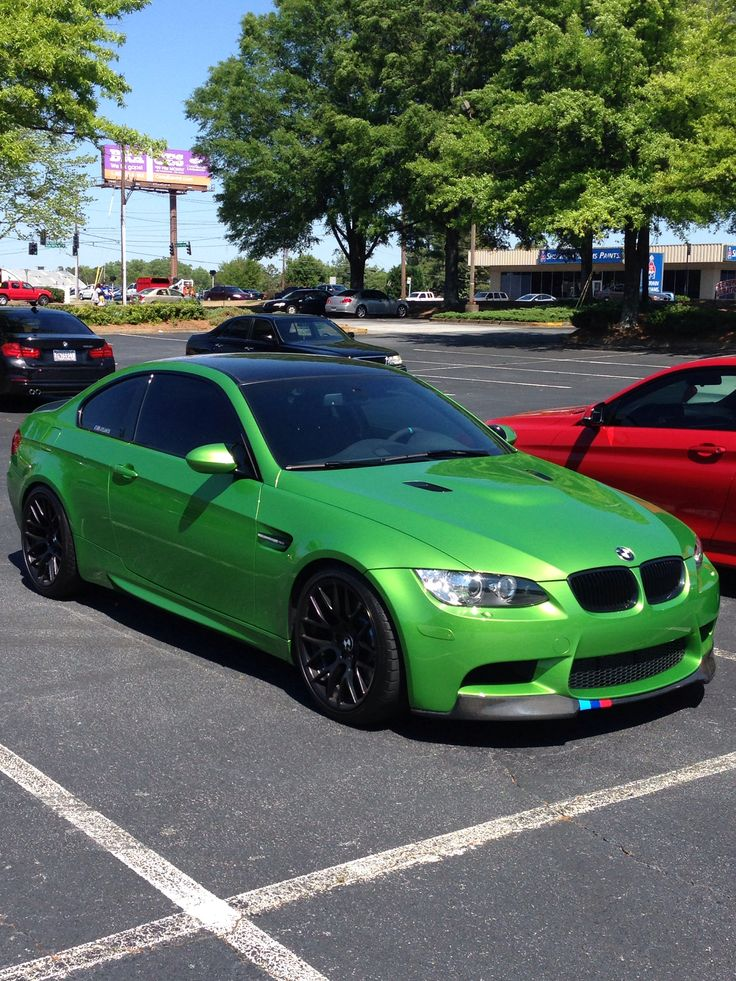 I really like this java green paint job with black detail