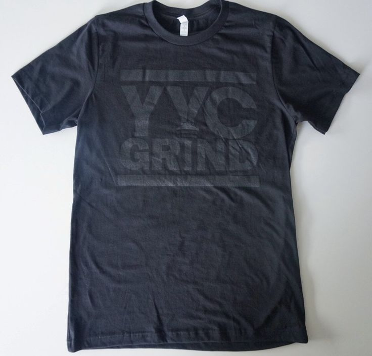 YYC GRIND Black on Black T-Shirt