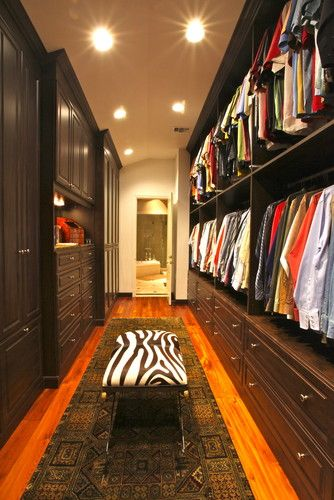 His Master in Mocha - traditional - closet - other metros - by Ultimate Storage Systems