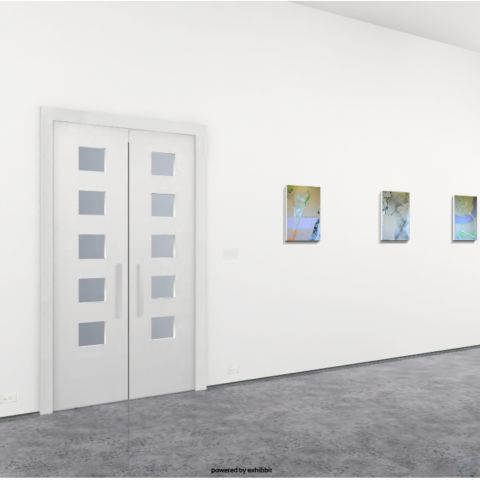 An online exhibition in a 3d gallery showcasing Artists in Kingsland
