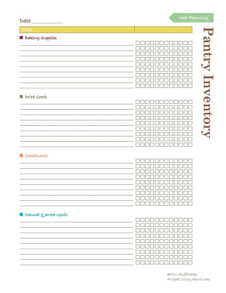 Best 25+ Pantry inventory printable ideas on Pinterest Pantry - home inventory template