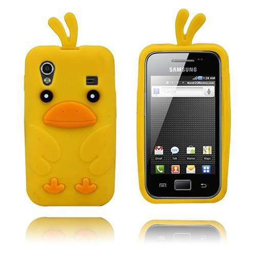 Chicken (Gul) Samsung Galaxy Ace Deksel