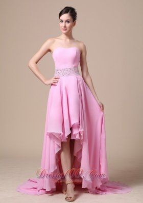 High-low Beaded Prom Evening Dress Under 150