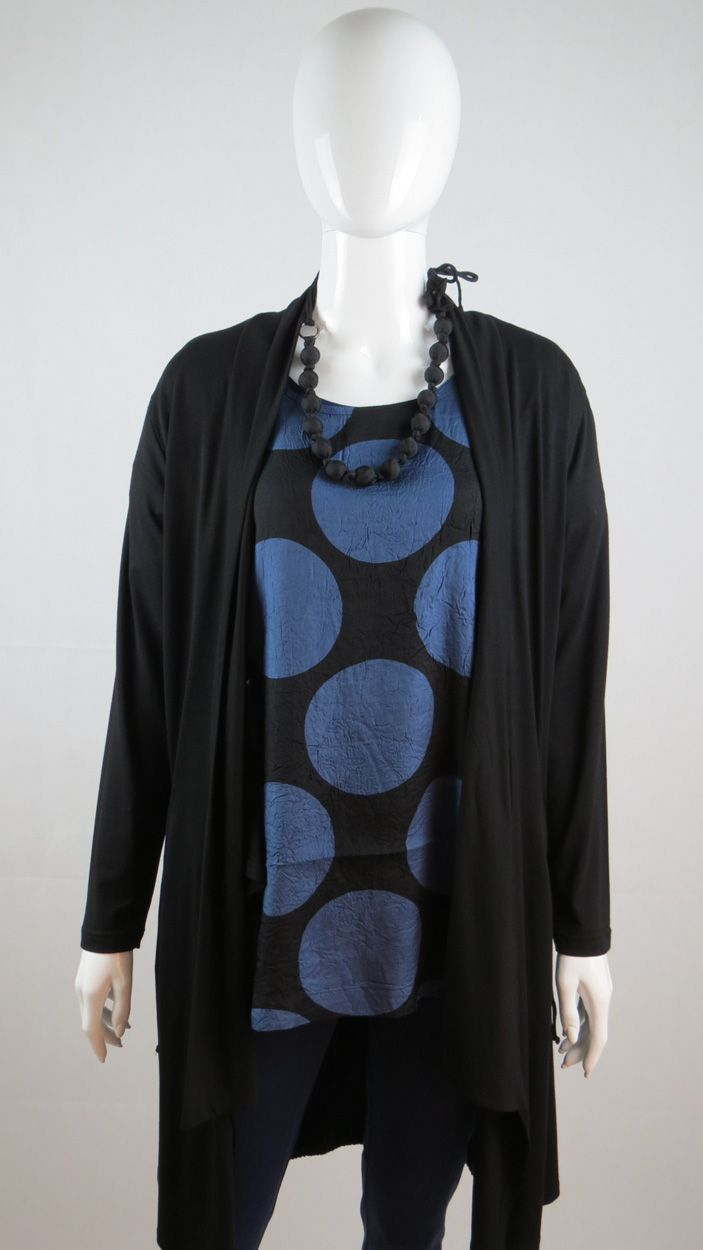 Love this comfortable Dress from Masai Clothing. Big dots every time. www. withcozy.de