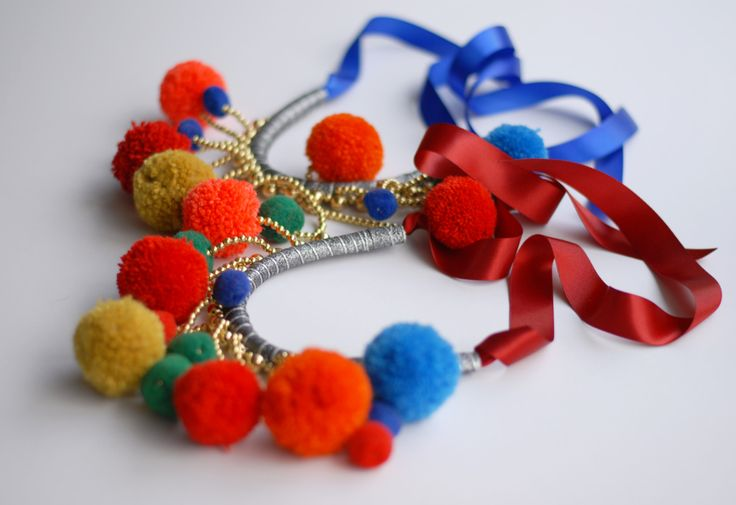 Bobbles colours necklaces