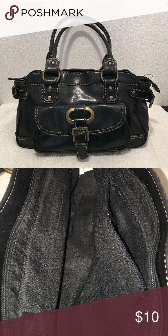 Black target purse Black purse from target. One outside pocket. One zippered pocket inside and 2 smaller pockets.   P2 Bags Shoulder Bags