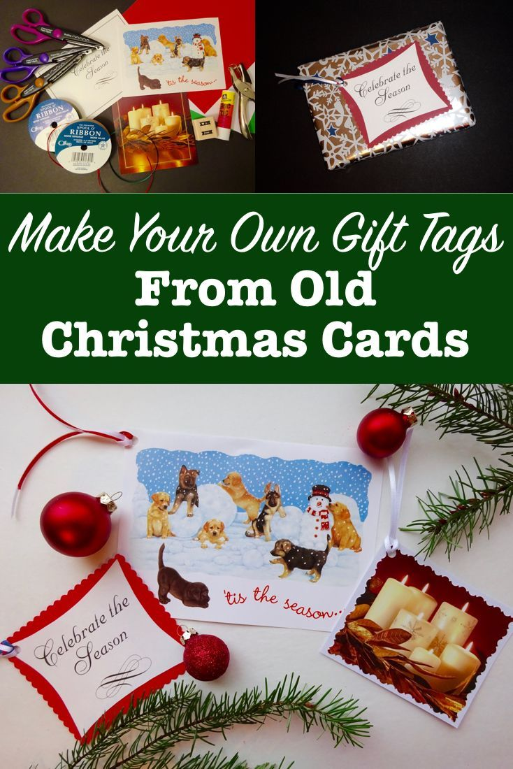 Diy Gift Toppers That Stay Pretty When You Mail Them Easy Diy Christmas Gifts Pretty Christmas Cards Christmas Gift Tags