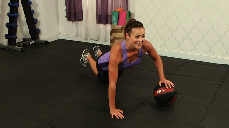 5 Must-Do Medicine Ball Moves: Slam, toss, catch, and roll - these are all ways to rev up your workout by simply adding a medicine ball to classic gym exercises.