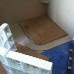 Glass Block Shower Kits | Walk In Shower Kits | Doorless Shower Kits