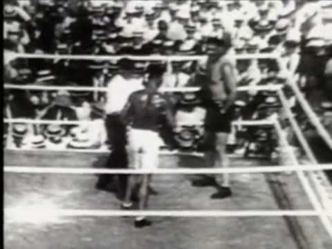 Jack Dempsey and Jess Willard- The Worst Beating in Boxing History - W/ Commentary - YouTube