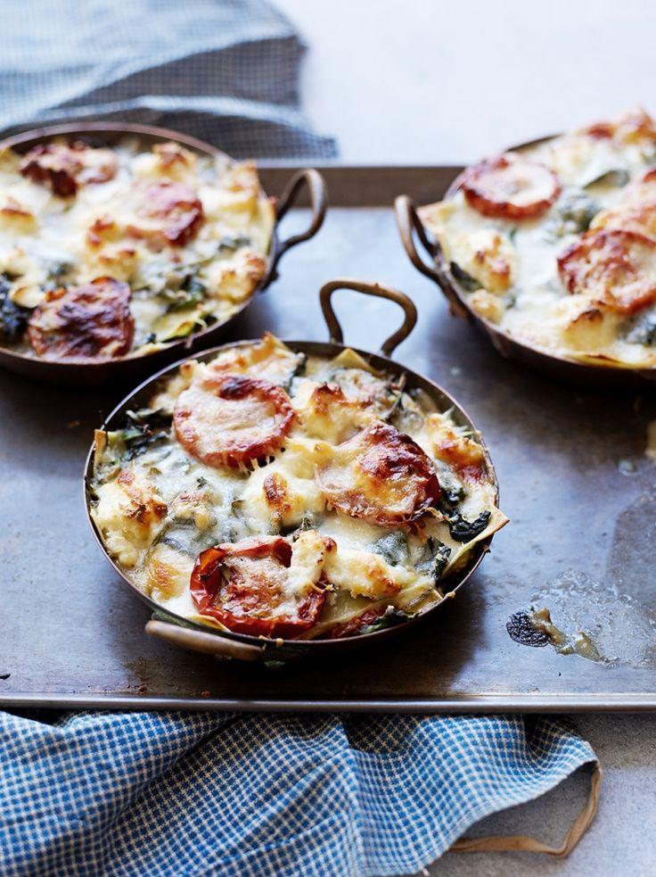Individual Vegetarian Lasagnes | Vegetable Recipes | Jamie Oliver