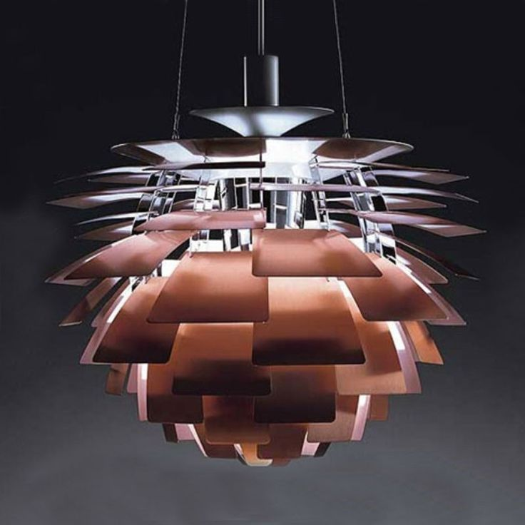 This designer is known by all danes. Danish design. Poul Henningsen. I want it!