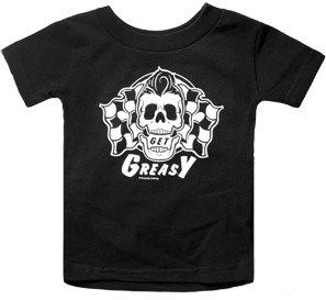 40% off ALL clothing to make room for new inventory! Coupon Code: OCT40.   Get Greasy! Rockabilly, greaser, lil greaser, rockabilly baby clothing- Rockabilly Rehab