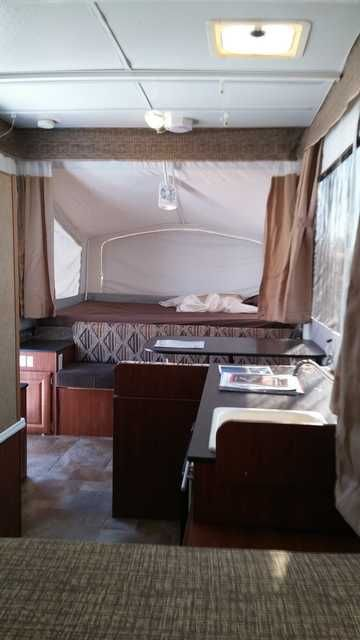 2013 Used Jayco Baja 10G Pop Up Camper in Arizona AZ.Recreational Vehicle, rv, 2013 Jayco Baja 10G, Excellent shape, well maintained, all systems function properly. MB wheels, additional water siphon pump for longer trips. All LED lighting for better battery life. only 6 months use on sealed cell battery. All manuals, no leaks, good tires. Folding high rise faucet. Awesome factory screen room. ATV deck. Solar panel ready. See photos for specs and included options. $13,550.00