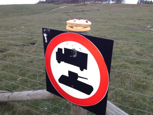 Warning: Military vehicles, and Victoria Sponges? Thanks to samuelball.