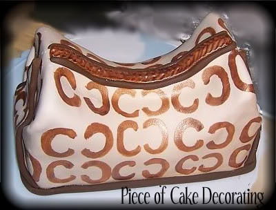 How to Make A Coach Bag Cake