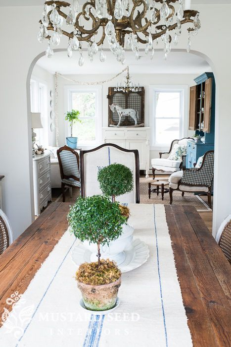 869 Best  The House That Miss Mustard Seed Built  Images On Gorgeous Miss Mustard Seed Dining Room Decorating Inspiration