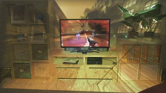 VIDEO: Microsoft tovert huiskamer om in gigantisch tv-scherm