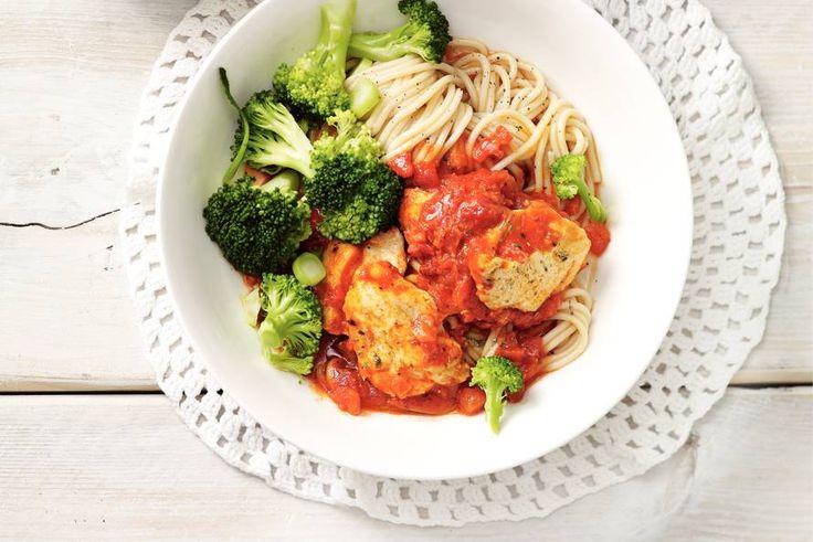 Kijk wat een lekker recept ik heb gevonden op Allerhande! Italiaanse kipschotel met broccoli