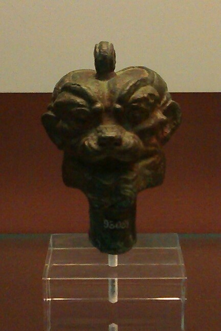 pazuzu head  british museum  london