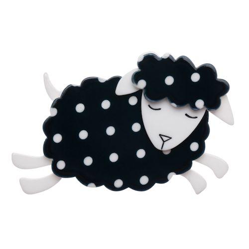 Limited edition, original Erstwilder Bellamy the Black Sheep brooch. $29.95